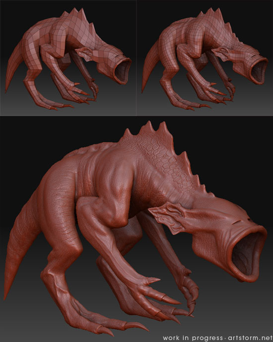 Destrachan - Work in Progress - ZBrush