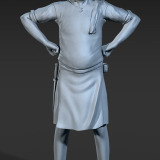 The Innkeeper - Work in Progress 4 - Hair