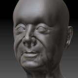 Sculpt of a Male Head