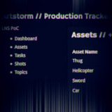 Film Production Tracker Screenshot