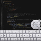 Textastic LScript Screenshot