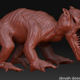 Fantasy Creature doodling in ZBrush