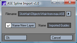 ASE Spline Import