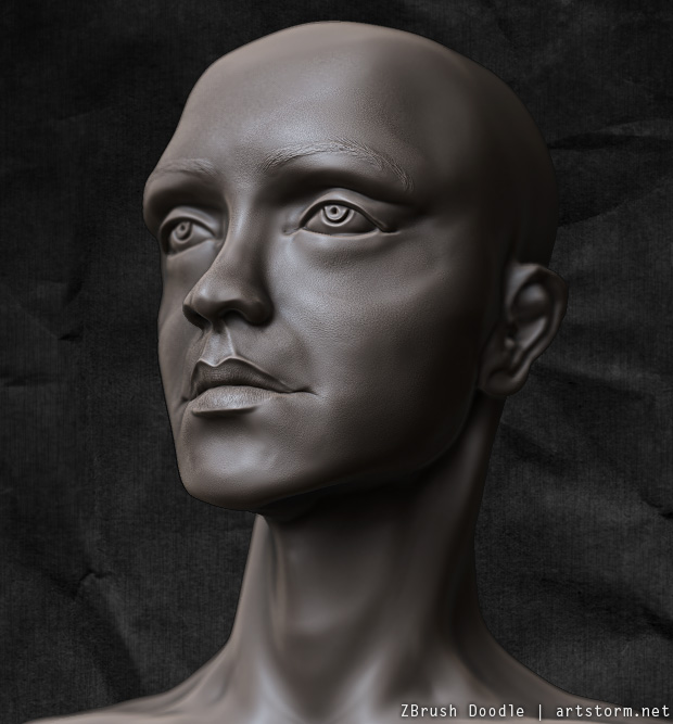 Late Night Doodling in ZBrush