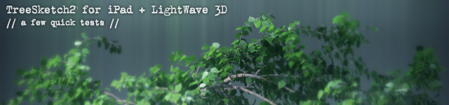 logo for TreeSketch2 and LightWave 3D article